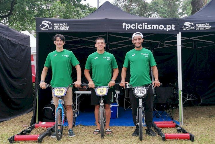 Selecção Nacional com três corredoresem Zolder