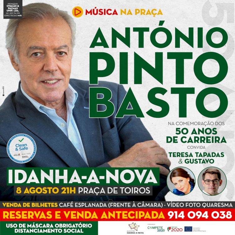 António Pinto Basto com espetáculo de fado em Idanha