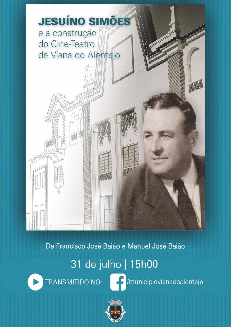 História do Cine-teatro Vianense em livro