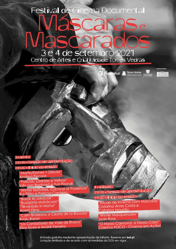 Festival de Cinema Documental Máscaras e Mascarados em Torres Vedras