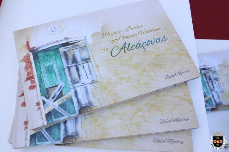 Livro de aguarelas de Bela Mestre apresentado em Alcáçovas