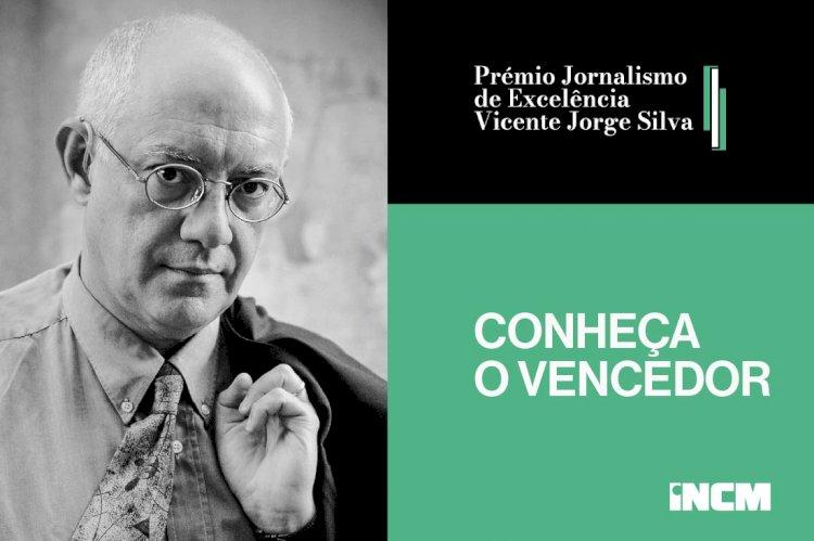 Isabel Lucas vence 1.ª edição do Prémio Jornalismo de Excelência Vicente Jorge Silva