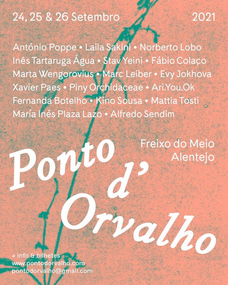 Ponto d'Orvalho acontece em Setembro para discussão ambiental através de intervenções artísticas