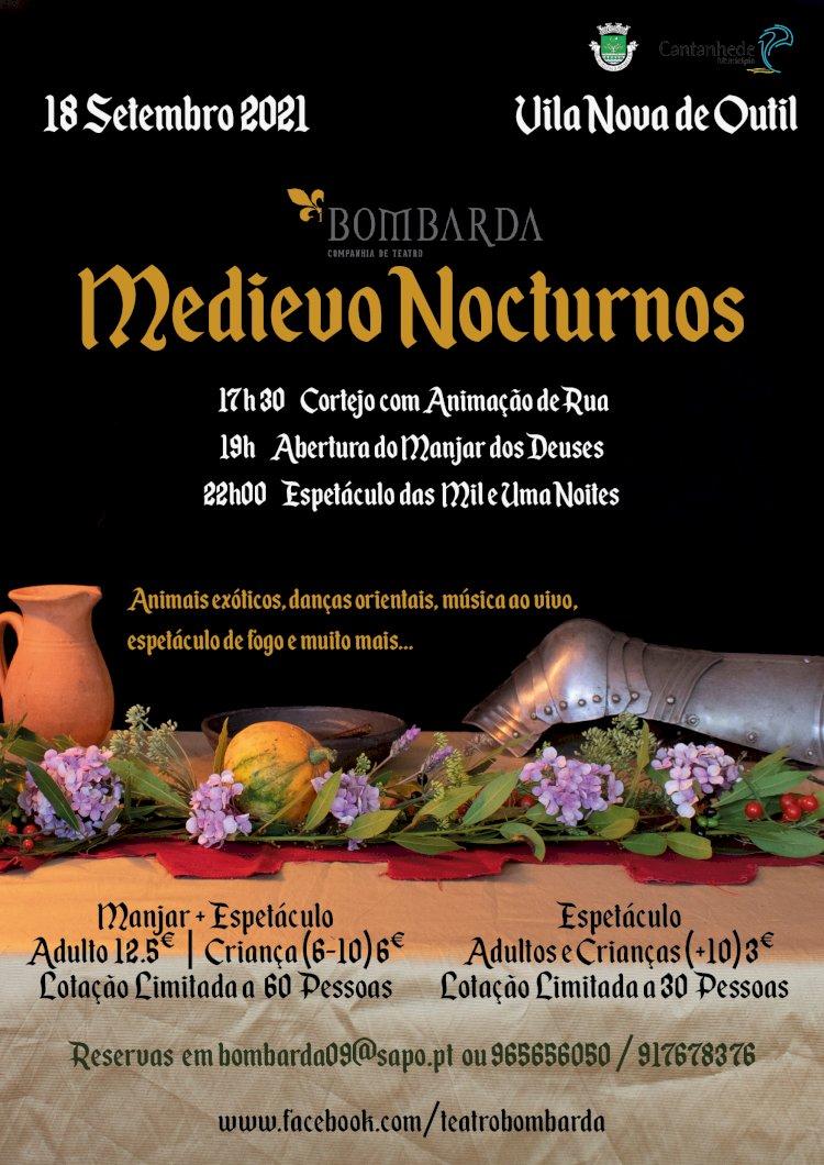 Bombarda organiza espetáculo medieval em Vila Nova de Outil