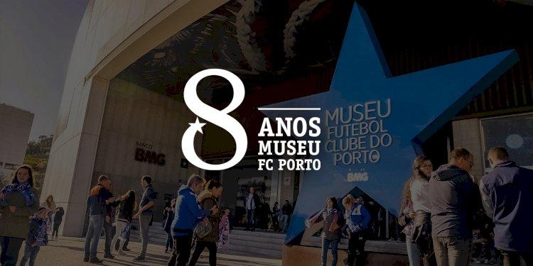 Sócios do FC Porto só pagam metade no 8.º aniversário do Museu