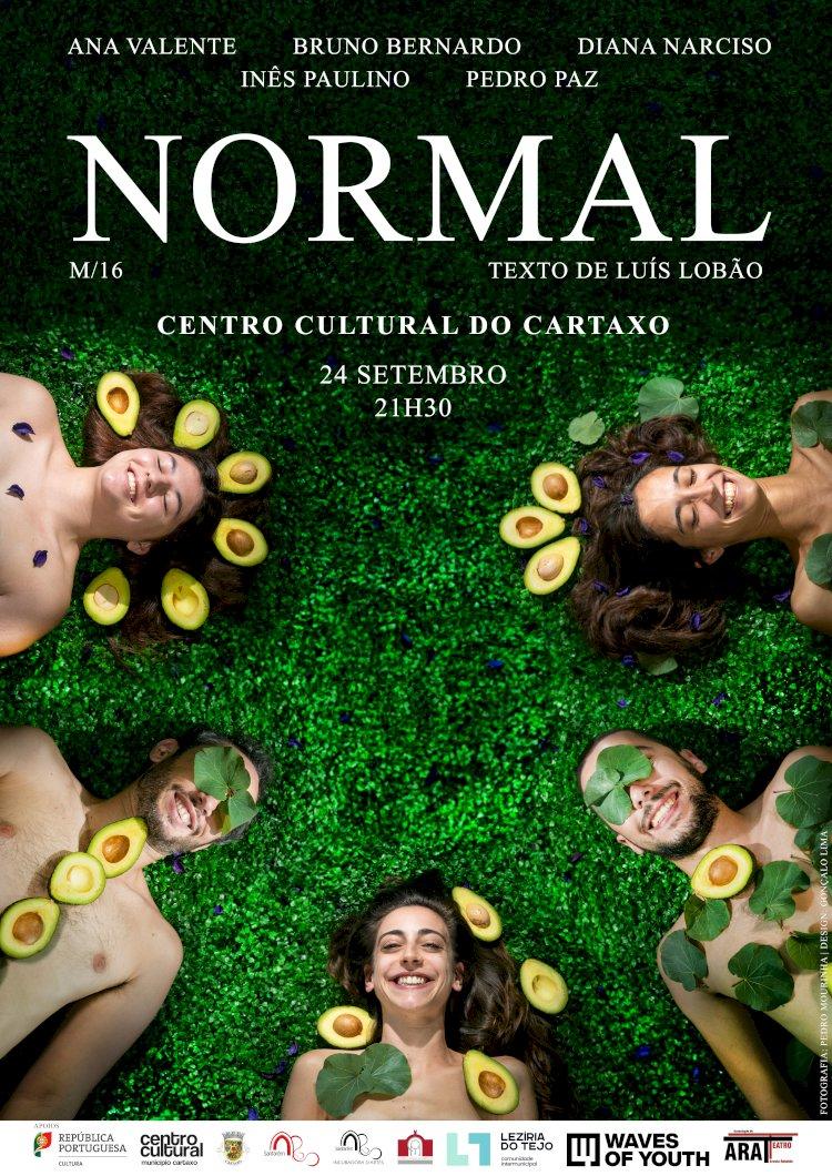 Normal a Quatro Vozes no Teatro no Centro Cultural do Cartaxo
