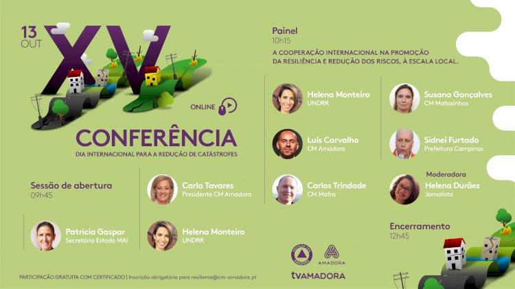 XV Conferência do Dia Internacional para a Redução de Catástrofes