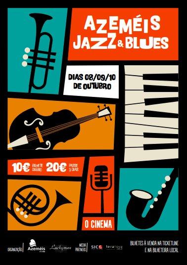 Azeméis Jazz & Blues Estreia em Outubro