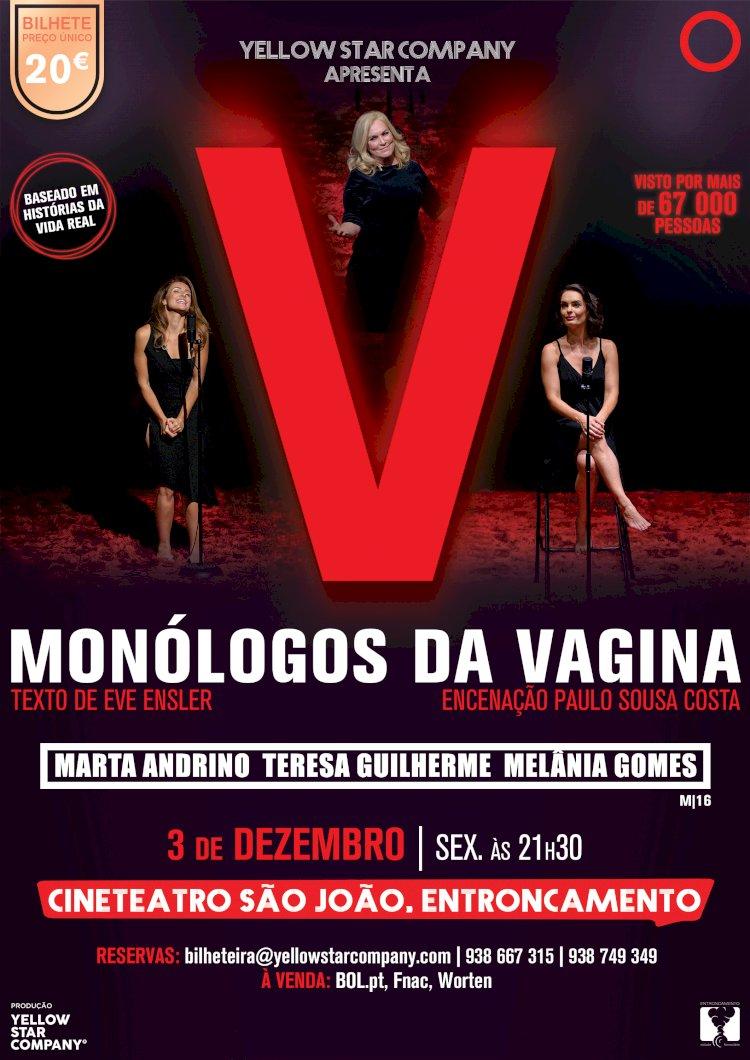 """Monólogos da Vagina"" no Cineteatro S. João do Entroncamento"