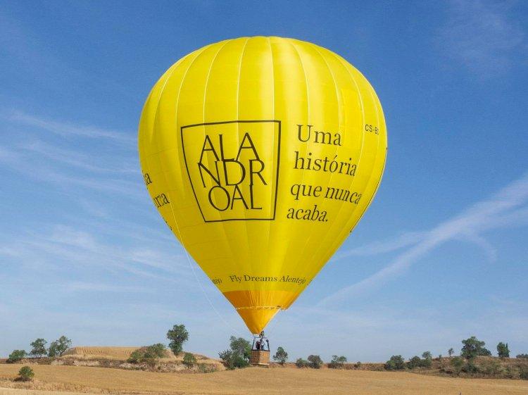 Alandroal vai Acolher Encontro de Balonismo com Saída do Castelo de Terena