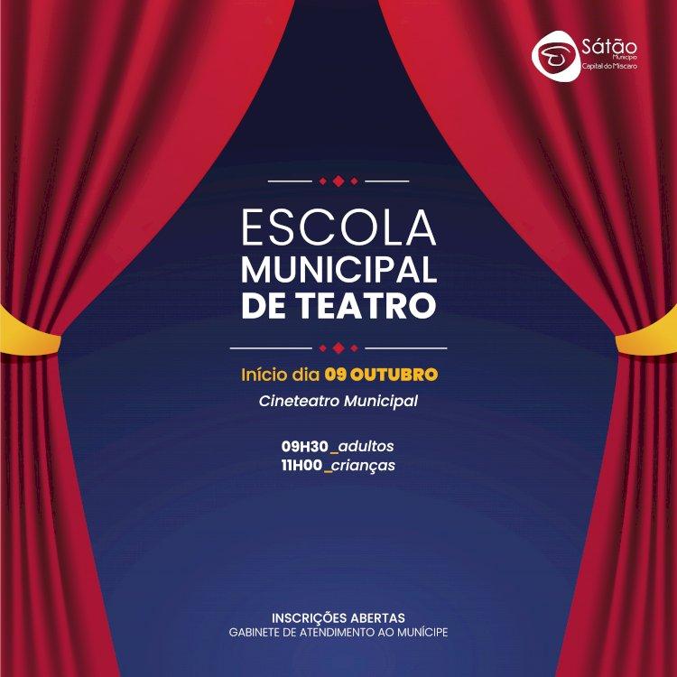 Escola Municipal de Teatro do Sátão inicia actividades para este ano lectivo