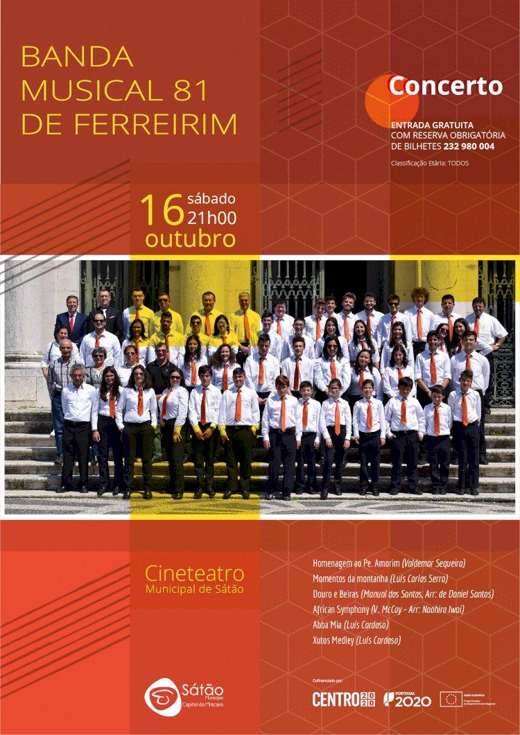 Concerto da Banda Musical 81 de Ferreirim